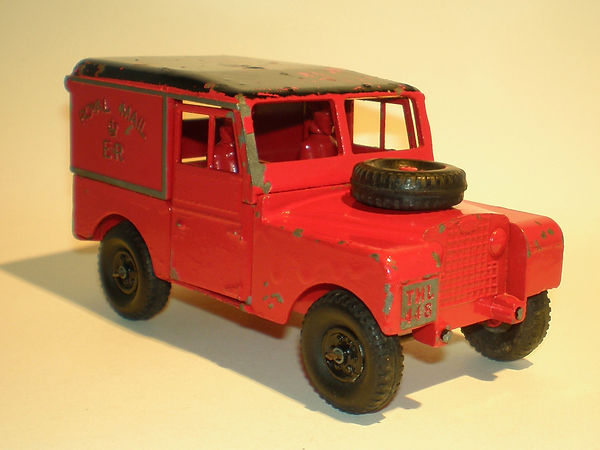 Benbros Qualitoys Royal Mail Land Rover