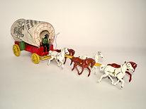 Morestone Six Horse Covered Wagon