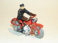 Britains Lilliput World Vehicle Series LB/548 Telegraph Boy Motorcycle