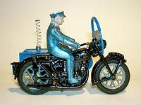 Benbros Qualitoys RAC Motorcycle Patrol
