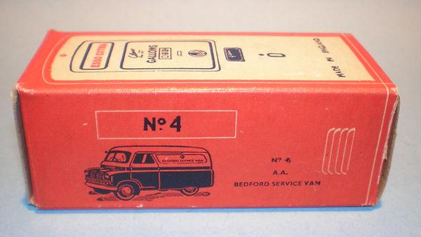 Morestone Esso Petrol Pump Series No.4 box (type 2)