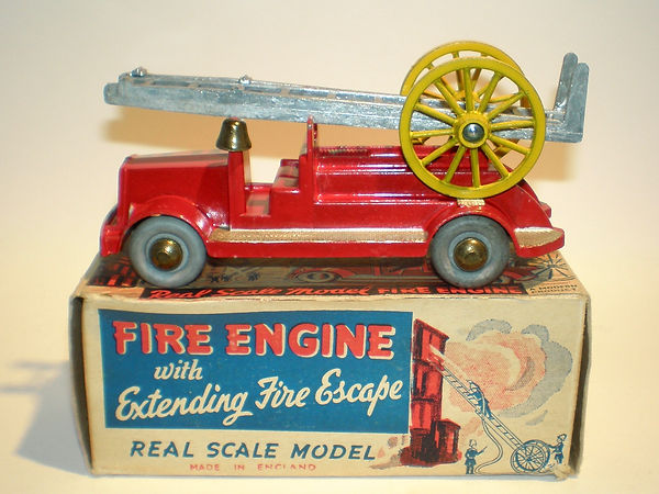 Morestone Fire Engine with Extending Fire Escape Ladder