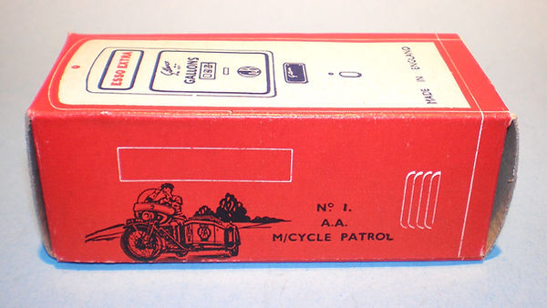 Morestone Esso Petrol Pump Series No.1 box