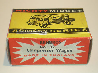Benbros No.32 Compressor Wagon - Mighty Midget box
