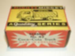 Benbros Mighty Midget No.49 Coca-Cola Truck box
