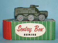 Kemlows Sentry Box Armoured Vehicle