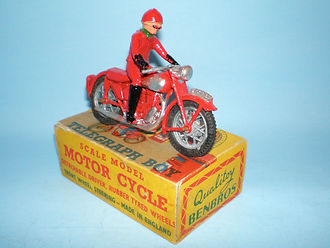 Benbros Qualitoy Telegraph Boy Motorcycle