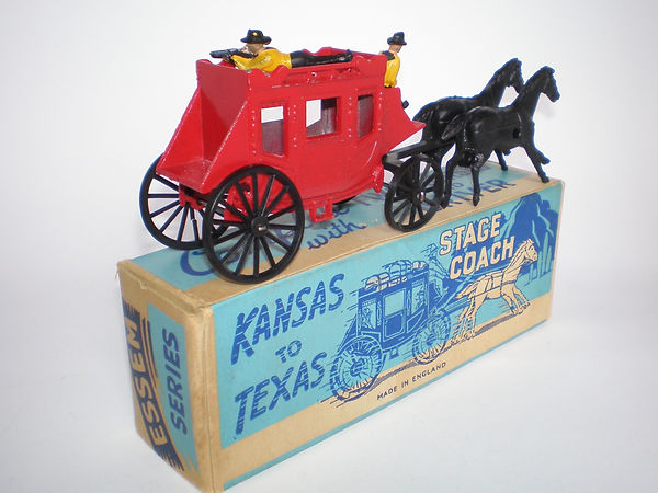 Morestone Essem Kansas to Texas Stage Coach