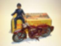 Benbros Qualitoys Police Patrol Motorcycle
