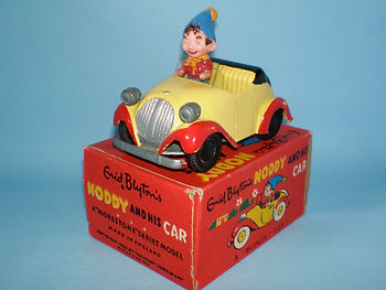 Morestone Budgie Toys Noddy and His Car (large)