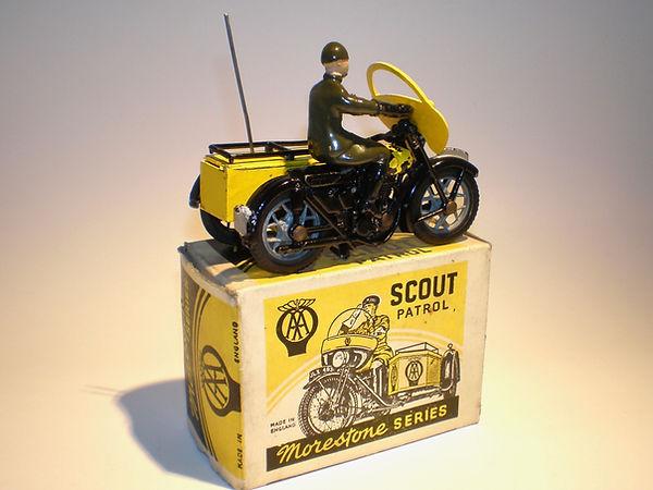 Morestone AA Motorcycle Scout Patrol Series 2