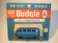 Budgie Miniatures No.12 VW Micro Bus - blue blister-pack