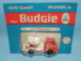 Budgie Miniatures No.23 Cement Mixer - blue blister-pack