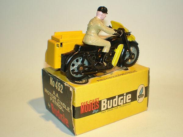 Budgie No.452 AA Motorcycle Patrol (Series 2)
