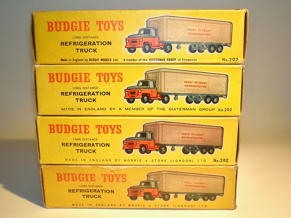 Budgie No.202 Refrigeration Truck boxes