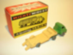 Benbros Mighty Midget No.44 Low Loader with ramp