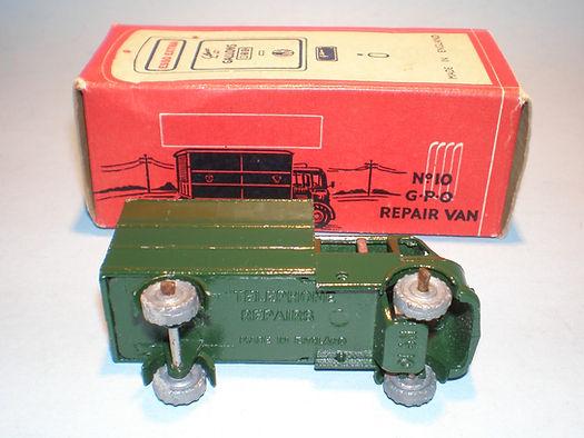 Morestone Esso Petrol Pump Series No.10 GPO Repair Van (base)