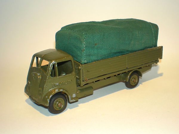 Benbros Qualitoys A106 Army Covered Truck