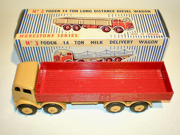 Morestone No.2 Foden Long Distance Diesel Wagon