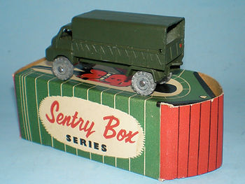 Kemlows Sentry Box 3 Ton Bedford Lorry