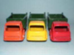 Budgie Miniatures No.21a Tipper Truck colours