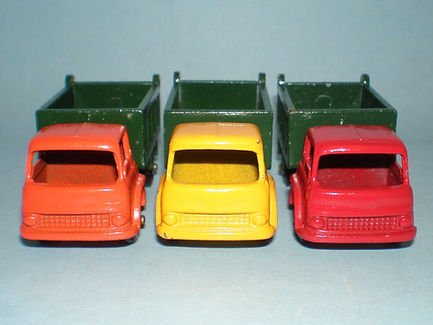 Budgie Miniatures No.21a Tipper Truck colours
