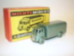 Benbros Mighty Midget No.23 Delivery Van - metallic green, pmw