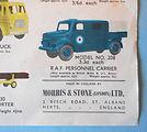 Budgie Toys Leaflet 1960 detail
