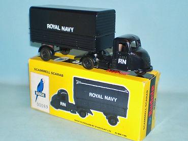Budgie No.702 Scammell Scarab Van 'Royal Navy'