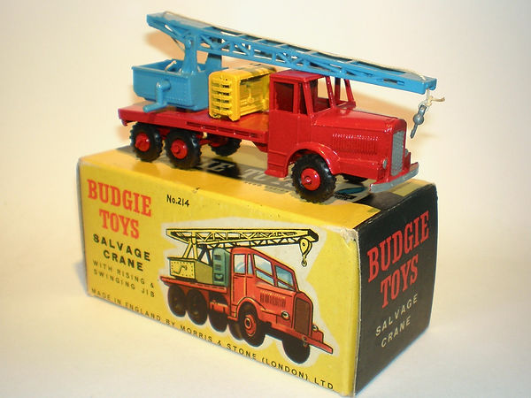 Budgei No.214 Salvage Crane