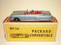 Budgie Miniatures No.14 Packard Convertible