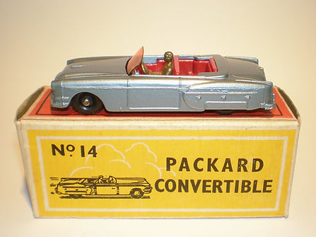 Budgie Miniatures No.14 Packard Convertible