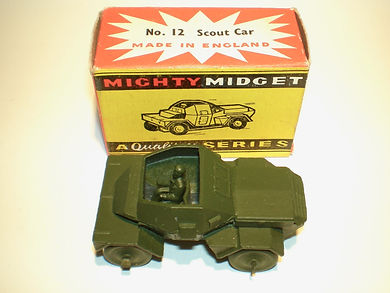 Benbros Mighty Midget No.12 Scout Car