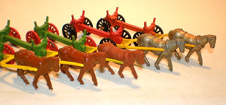 Benbros TV Series & Mighty Midgets No.2 Log Cart horse variations