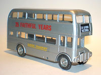 Budgie No.705 Routemaster Bus - 25 Faithful Years
