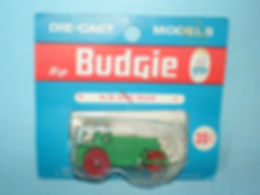 Budgie Miniatures No.26 Diesel Road Roller - blue blister-pack