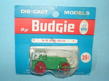 Budgie Miniatures No.26 Diesel Road Roller - blue blister-pack