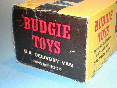 Budgie No.240 British Railways Delivery Van box