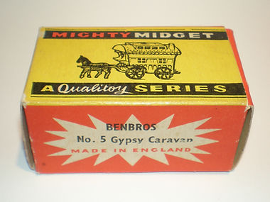 Benbros Mighty Midget No.5 Gypsy Caravan box