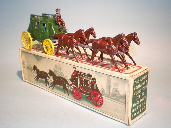 Morestone Four Horse Stage Coach