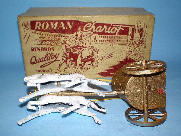 Benbros Qualitoys Roman Chariot - underside
