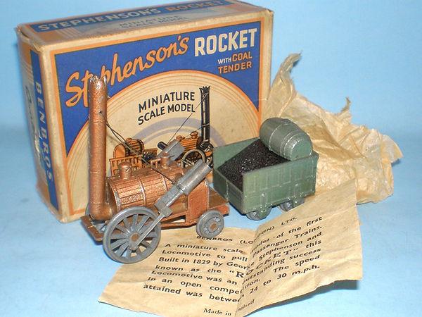 Benbros Qualitoy Stephenson's Rocket