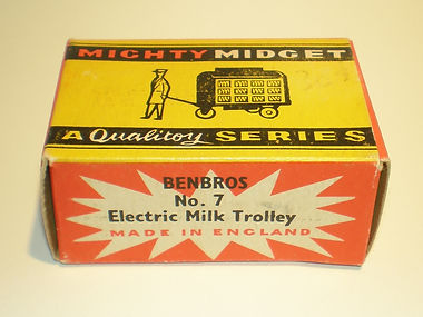 Benbros Mighty Midget No.7 Electric Milk Trolley box