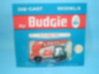 Budgie Miniatures No.22a Mobile Crane - blue blister-pack
