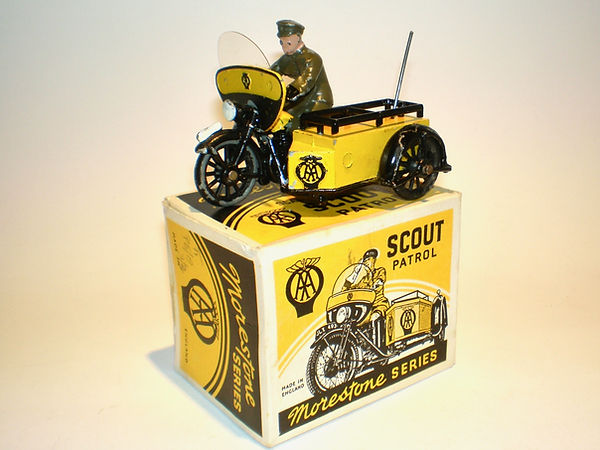 Morestone AA Motorcycle Scout Patrol Series 1