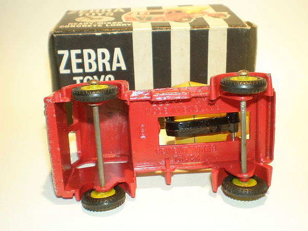 Zebra Toys Ready-Mixed Concrete Lorry