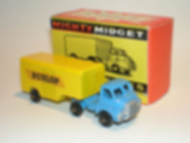Benbros Mighty Midget No.43 Articulated Box Van