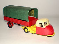Budgie No.240 BR Delivery Van - Canvas Hood