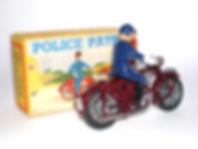 Benbros Qualitoy Police Patrol Motorcycle