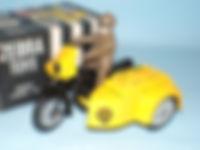 Benbros Zebra Toys AA Motorcycle Patrol